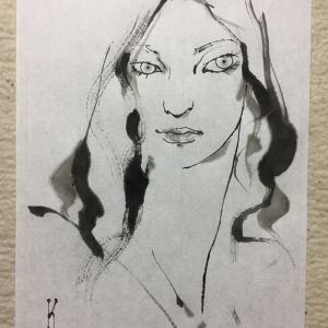 Facebookにスライドショーを投稿しました「女を描く」