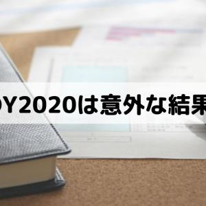 FOY2020はトップ3のeMAXIS Slimが崩れる意外な結果