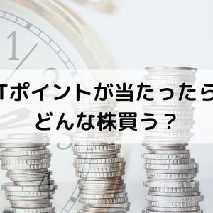 Tポイント100万円分当たったら、どの銘柄に投資する?
