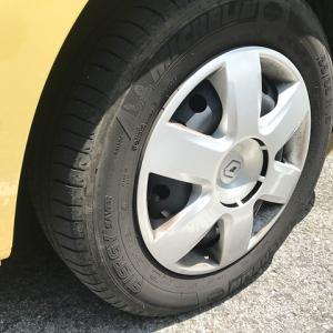 【カングー/故障】前輪から響くキーキー音は大丈夫。低速発進時に鳴るのはサビかダストが原因。