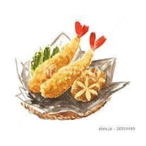 カットした美味しい天ぷらの作り方