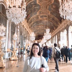 ヴェルサイユ宮殿から受けたインスピレーション*フランスの旅⑧*