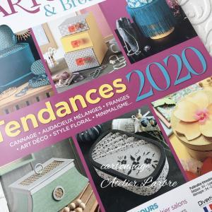 フランスの最新カルトナージュ雑誌が届きました