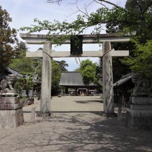 活津彦根神社~豊浦の地主神