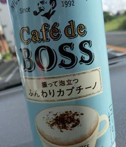 缶コーヒーBOSSの新作