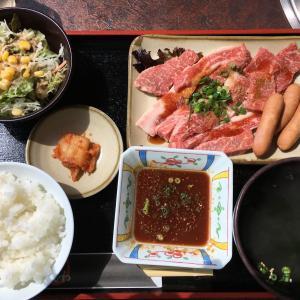 諫早の焼肉おがわで、長崎和牛を焼きながら食べる贅沢ランチ