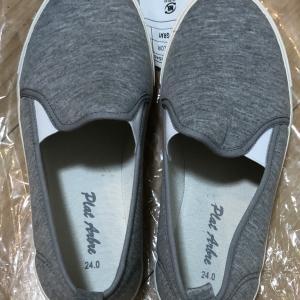初ヒラキ!小学校の親子行事のため親の上靴を安く購入しました。