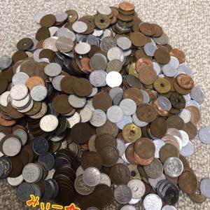 約半年間で貯まった小銭貯金額♡