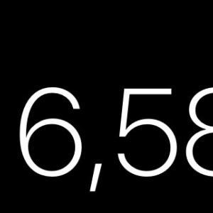 フリマアプリ♡10日間で売れた数と金額♡