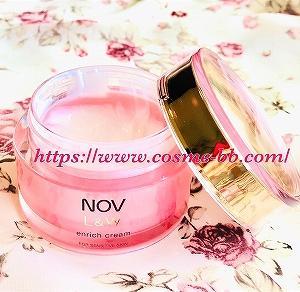 NOV(ノブ)L&W エンリッチクリーム 2個目を購入して使用中。超敏感肌の調子がいい