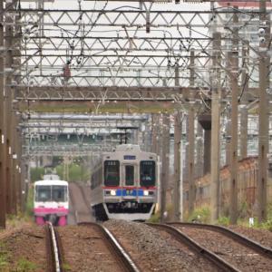母の日の市川ママ 京成電車