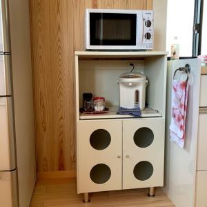 ヤフオクで買った食器棚が凹んで届いた
