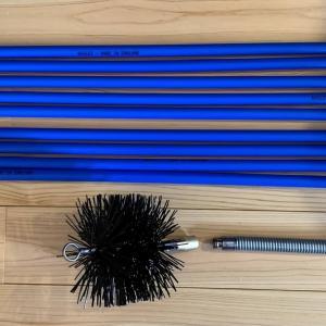 長年愛用してきた最もリーズナブルな煙突掃除道具
