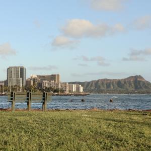 ハワイ旅行の思い出・・アラモアナビーチそしてマジックアイランド