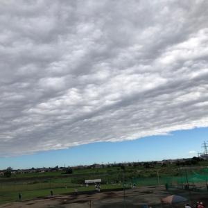 雲が切れていく☀️