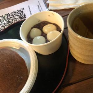 キュランダの和菓子とお茶