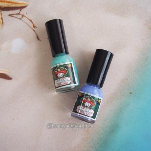 エメラルドの海と瑠璃色の空を指先に閉じ込めて☆ 胡粉ネイル沖縄限定カラー