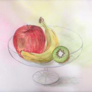 りんごとバナナとキウイでは。。