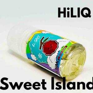 【リキッド レビュー】HiLIQ Sweet lsland ニコチンソルトリキッド