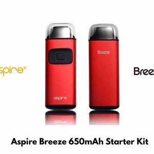 【スターターキット レビュー】Aspire Breeze 650mAh Starter Kit