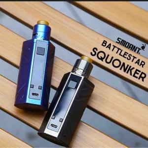 【MOD レビュー】Smoant Battlestar Squonker Kit