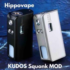 【MOD レビュー】Hippovape KUDOS Squonk MOD