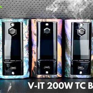 【MOD レビュー】Pioneer4you IPV V-IT 200W TC Box Mod