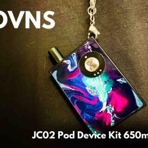 【スターターキット レビュー】OVNS JC02 Pod Device Kit 650mAh
