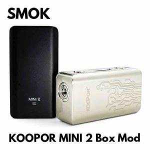 【MOD レビュー】SMOKKOOPOR MINI 2 Box Mod