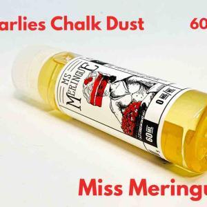 【リキッド レビュー】Charlies Chalk Dust Miss Meringue 60ml