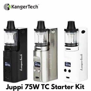 【MOD レビュー】kanger TechJuppi 75W TC Starter Kit