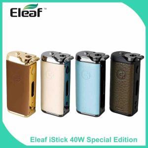 【MOD レビュー】Eleaf iStick 40W Special Edition
