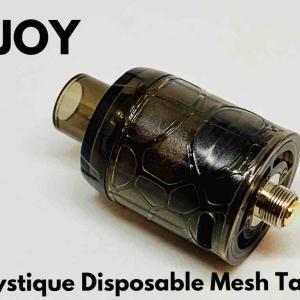 【アトマイザー レビュー】IJOY Mystique Disposable Mesh Tank