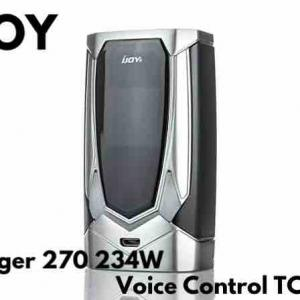 【MOD レビュー】IJOY Avenger 270 234W Voice Control TC Mod
