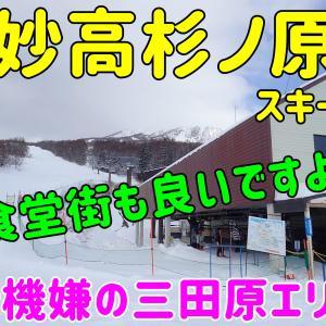 妙高杉ノ原スキー場。三田原エリア~お勧めは食堂街と、広いロングコース~