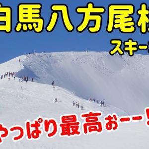 白馬八方尾根スキー場。やっぱり白馬は最高ぉーー!!