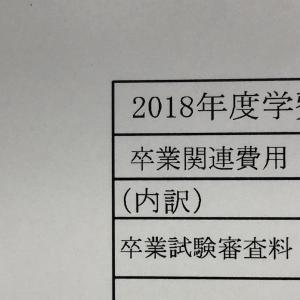 卒業試験審査料。