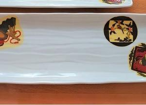 九谷デキャルで長皿を☆