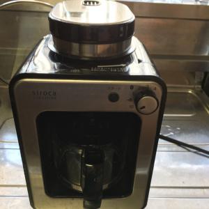 今日は君が代記念日とコーヒーメーカーぶち壊しました!
