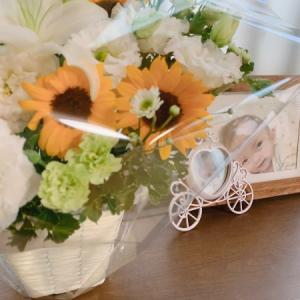 今年のお花もひまわり🌻でした。