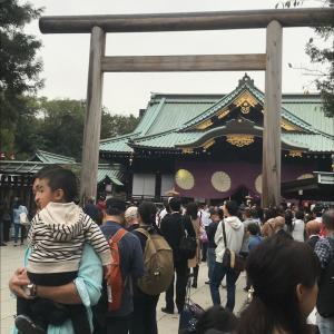 【東京で北九州の山笠が見られたのよ】