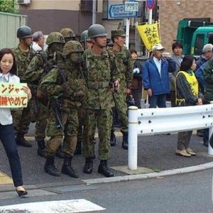 自衛隊イベント抗議の共産党市議「人殺しの訓練は事実!実戦訓練での隠密処理=暗殺!」