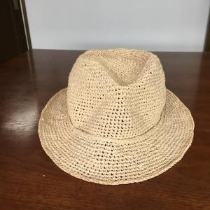 No.499 エコアンダリヤの帽子 中折れ帽