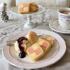 イギリス菓子スコーン&バッテンバーグケーキ講習のごあんない