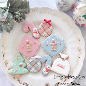 [最新]クリスマスアイシングクッキーレッスンのご案内♡