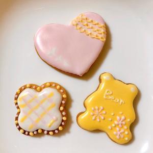 [つくレポ]お土産クッキーと持って帰ったアイシングで復習できるんです♡