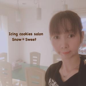[募集中]アイシングクッキー認定講座1月スタート!