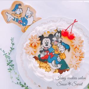 お誕生日ケーキ作り♡