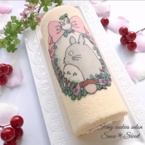 可愛い絵がそのままケーキに♡オプティボロール