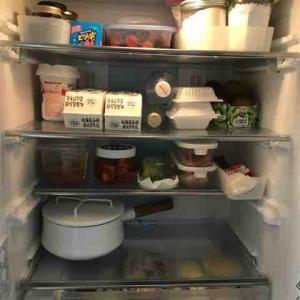 冷蔵庫の片づけの効果